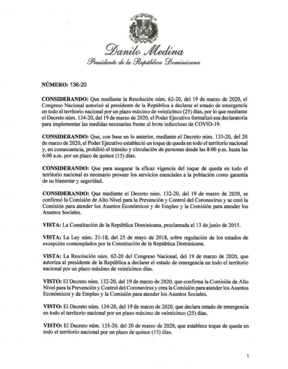decreto136-20