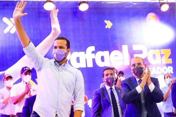 Danilo Medina resalta capacidad y preparación del candidato senatorial del PLD en la Capital, Rafael Paz
